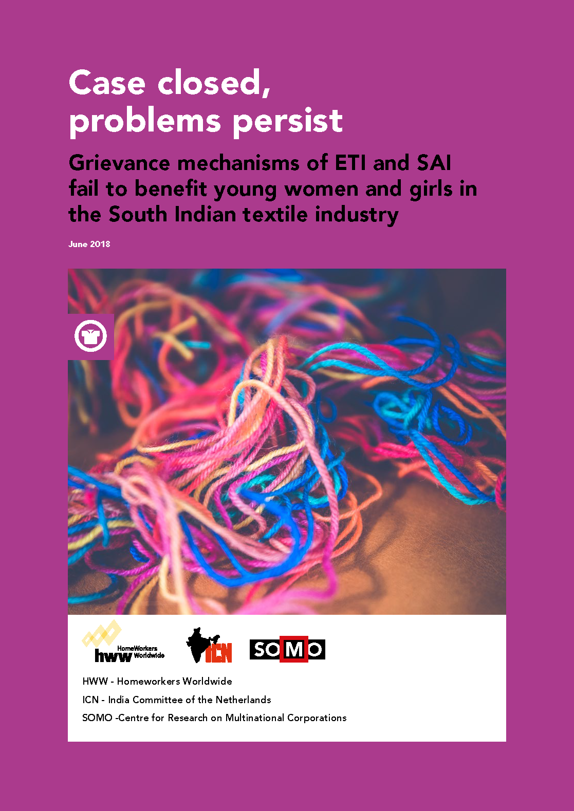Still problems in the South Indian textile industry | Arisa